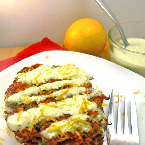 Zucchini & Carrot Fritters