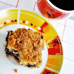 blueberry and cheese coffee cake