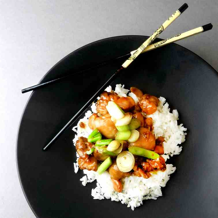 Bourbon Chicken - Quick Easy and Tasty