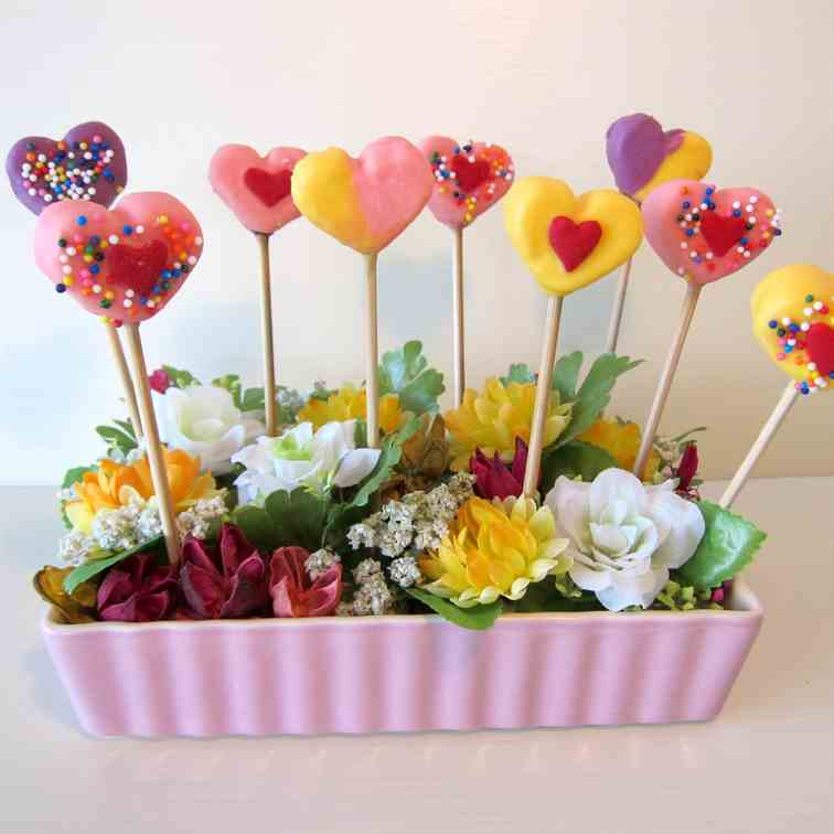 Marshmallow Pops for Mother's Day!