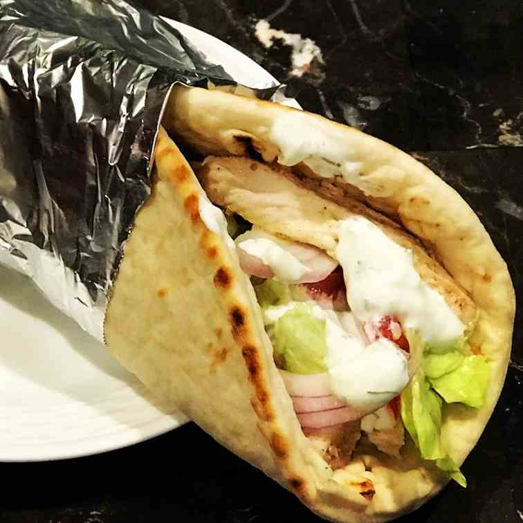 Chicken Gyros - Dill Ranch Sauce
