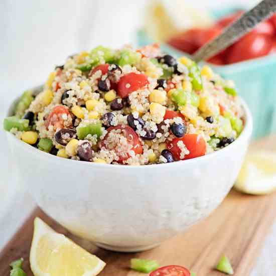 Rainbow Quinoa Power Salad