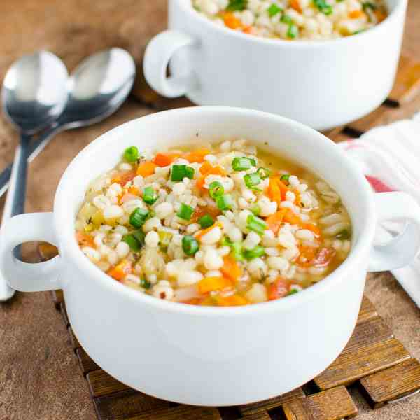 Healthy Barley Soup Recipe
