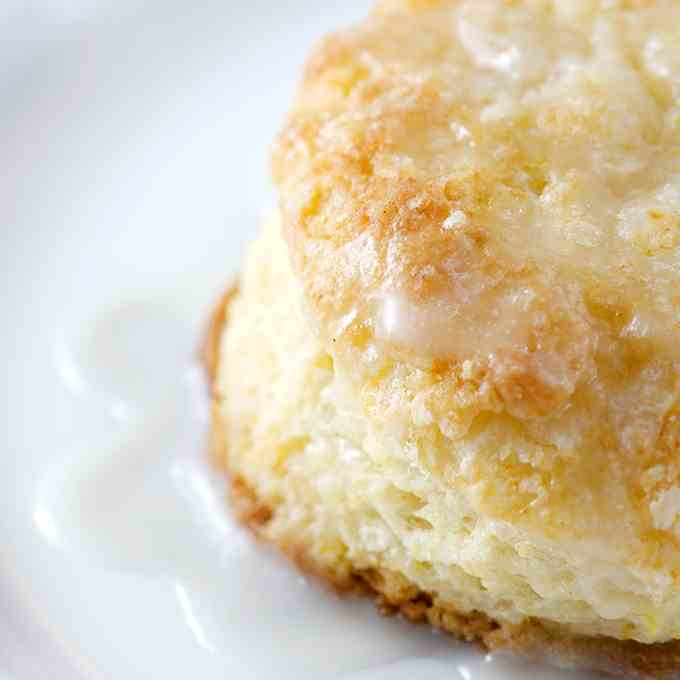 Quick - Easy Lemon Buttermilk Scones
