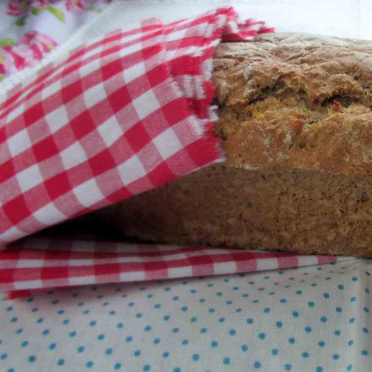 Healthy Apple and Nut Bread