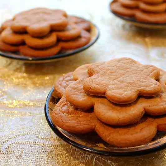Swedish Gingersnap Cookies
