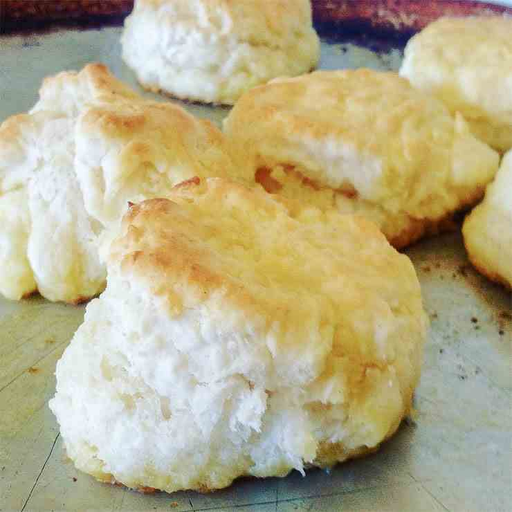 Perfect Southern Buttermilk Biscuits