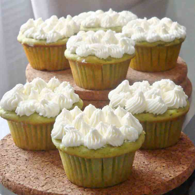 Lemon & Avocado cupcakes
