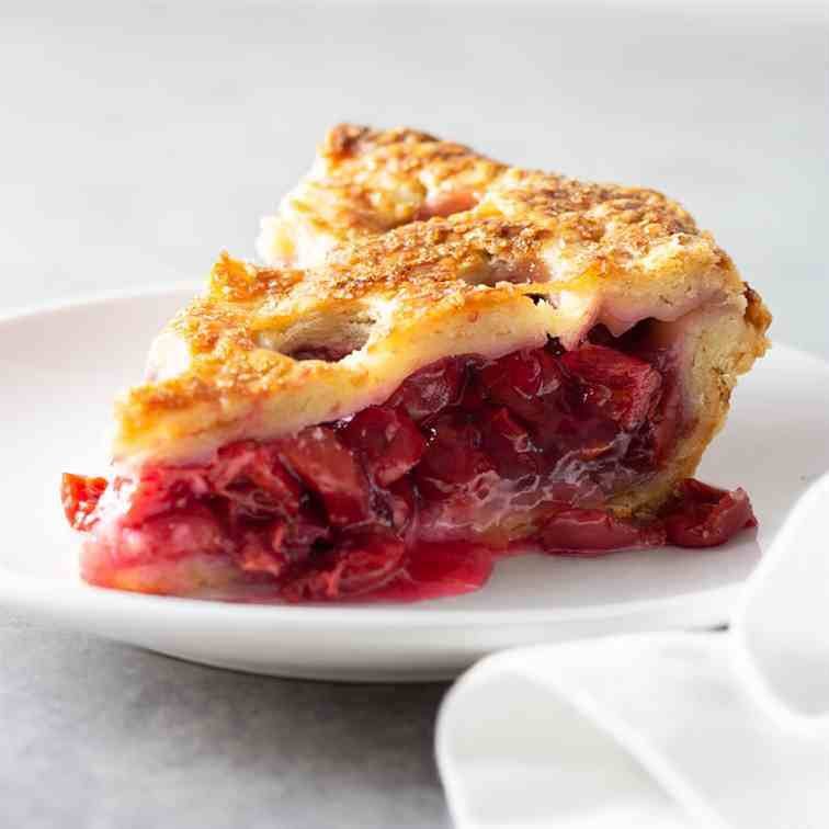 The Perfect Sour Cherry Pie