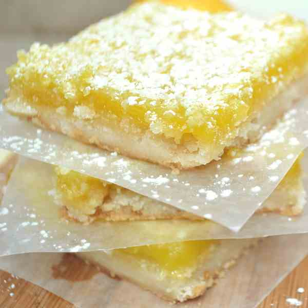 Sweet - Tart Lemon Squares