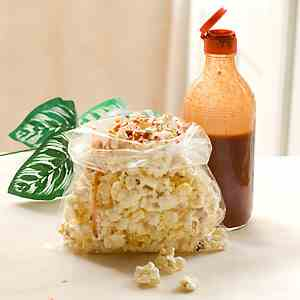 Popcorn with Hot Sauce