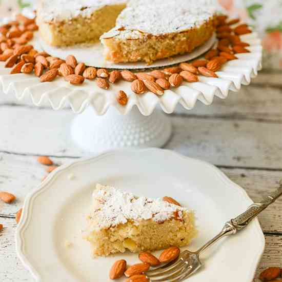 Dairy Free Swedish Almond Cake