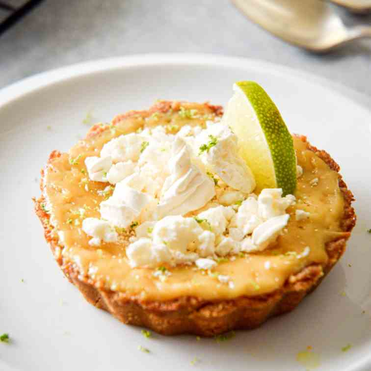Electric Skillet Key Lime Pie