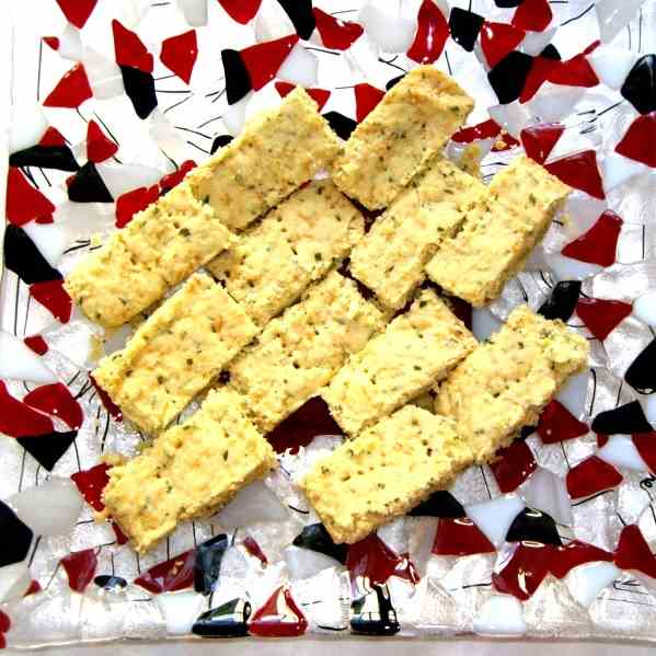 Cheesy Shortbread
