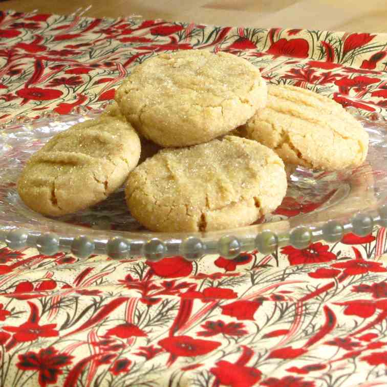 Ginger Chew Cookies.