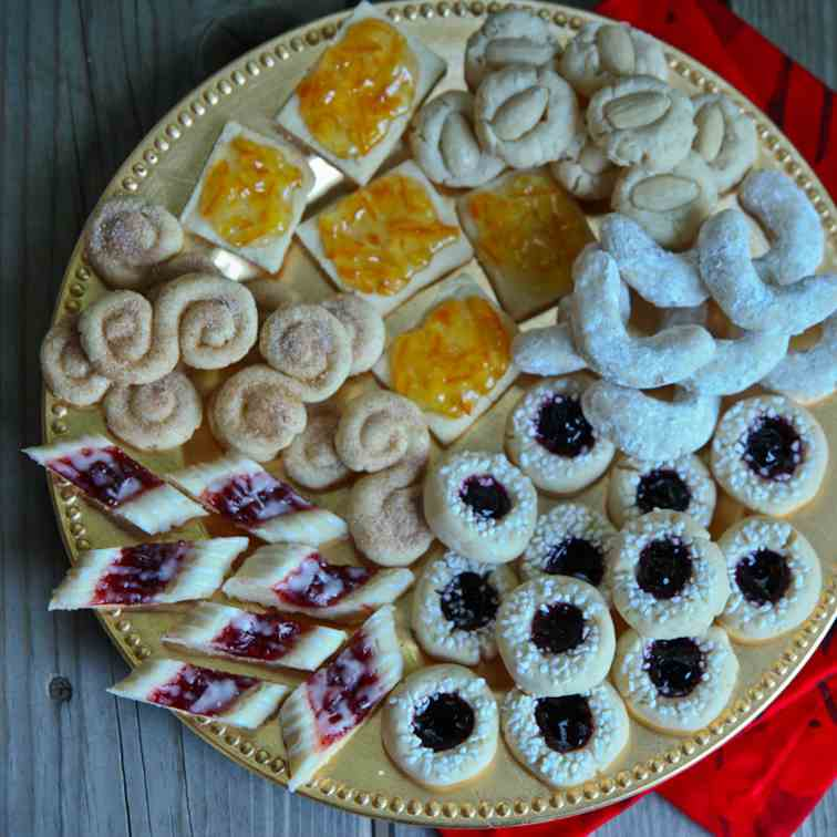 Scandinavian Cookie Smorgasbord