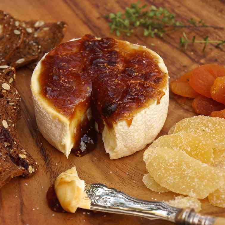 Camembert with Fig Jam