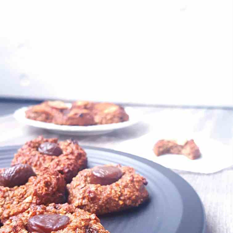 Banana vegan cookies