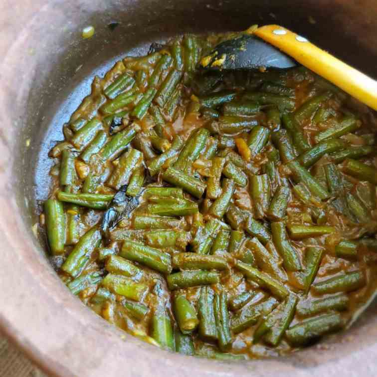 Sri Lankan Green Bean Curry