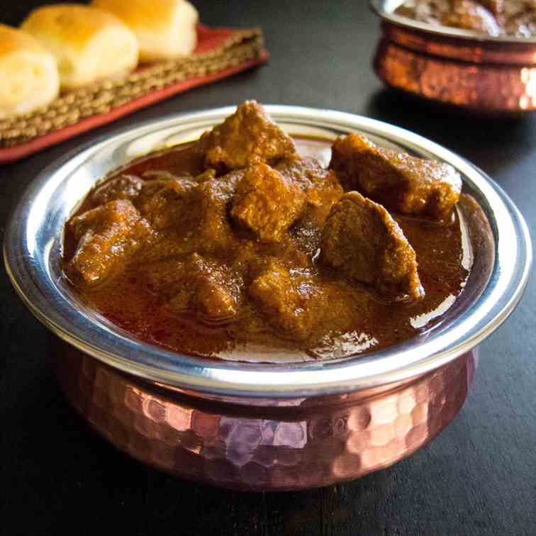 Authentic Instant Pot Vindaloo