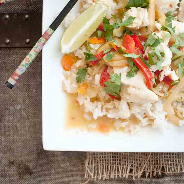 Easy Coconut Thai Fish