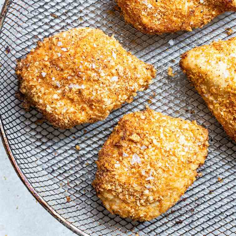 Crispy Air Fried Chicken Breast