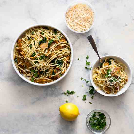 Weeknight Lemon Butter Pasta