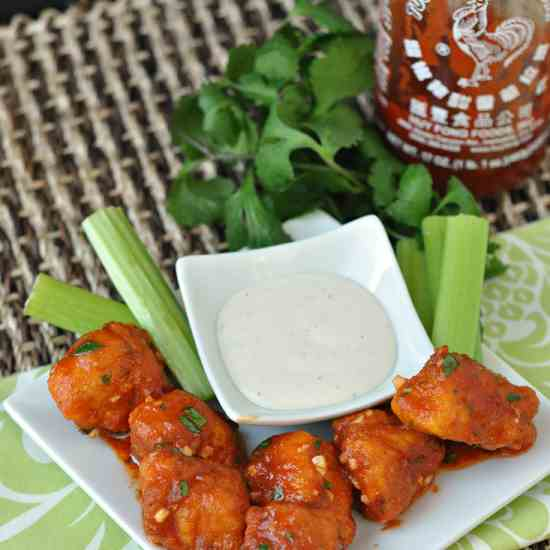 Sriracha Boneless Wings
