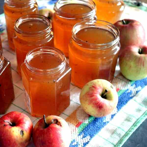 Apple Jelly Jam with Booze
