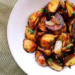 Asian Style Roasted Potatoes