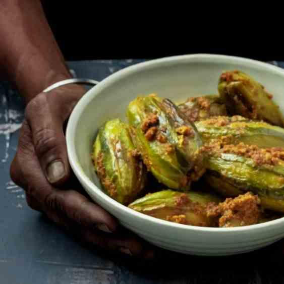 Bengali Stuffed Pointed Gourd