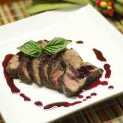 Blueberry-Chipotle Steak Sauce