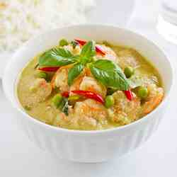 Thai Green Prawns Curry