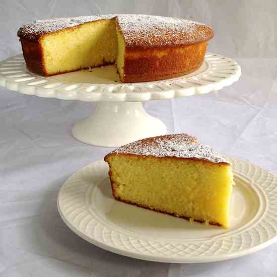 Orange-and-Olive Oil Cake