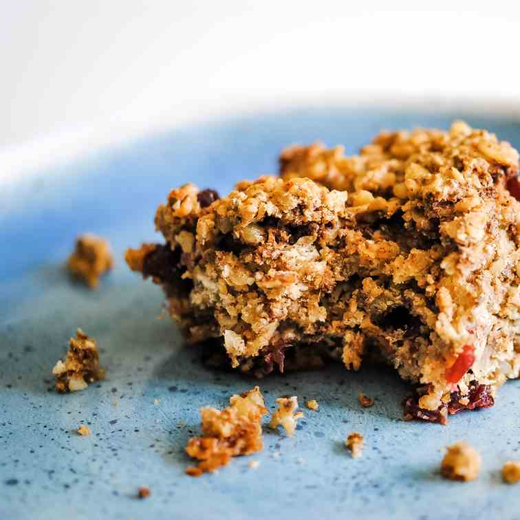No refined sugar flapjacks