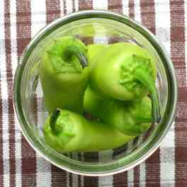 Stuffed Hungarian Wax Peppers