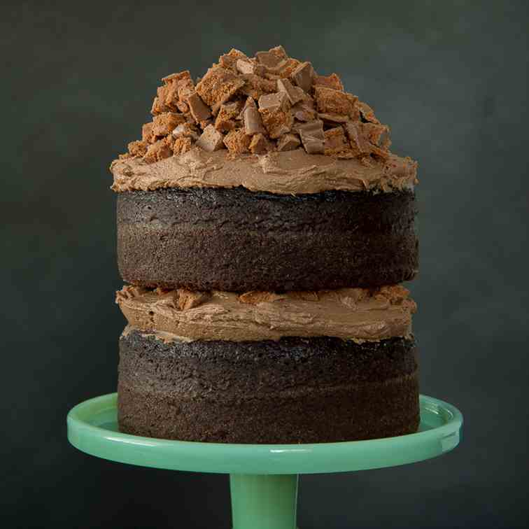 Chocolate Tim Tam Cake With Mexican Chocol