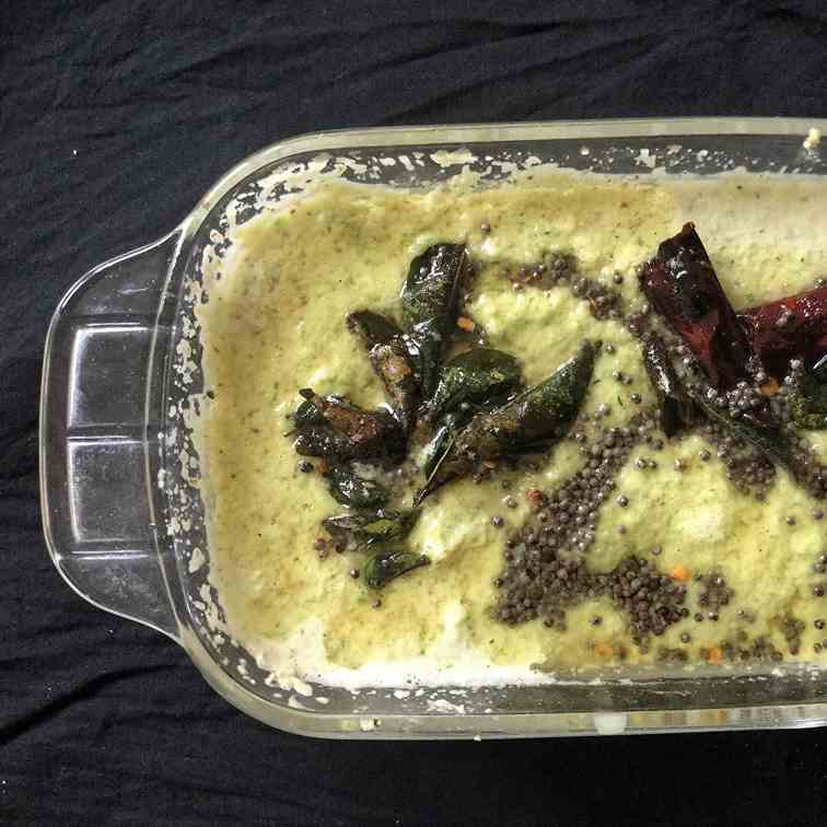 Coconut Chutney - South Indian Recipe