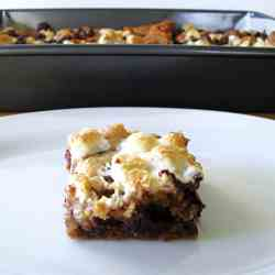 S'mores-ish Cookie Bars