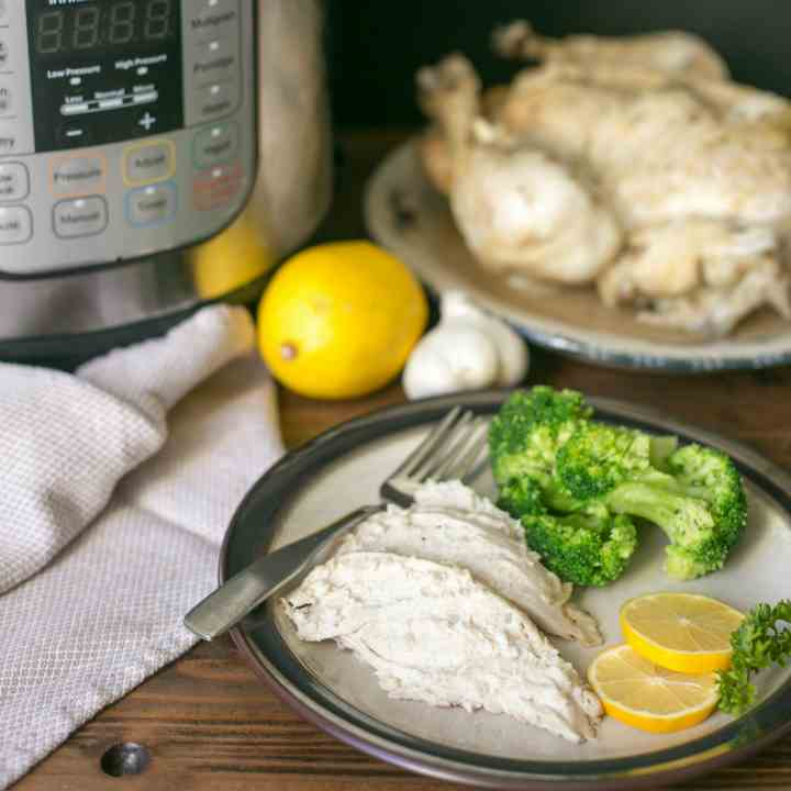 Pressure Cooker Whole Chicken