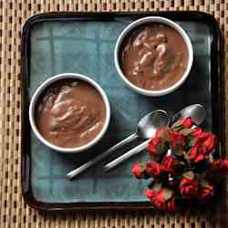 Easy Egg-less Chocolate Pudding
