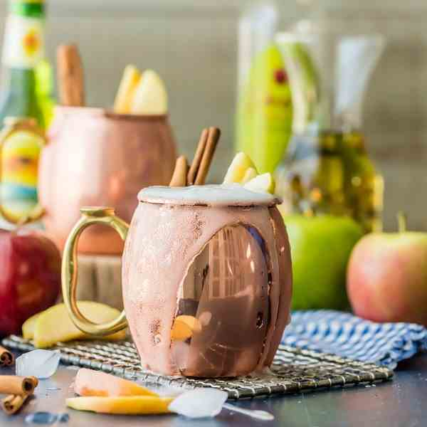 Apple Pie Moscow Mule