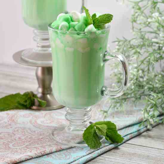 Minty Kiss Hot Chocolate