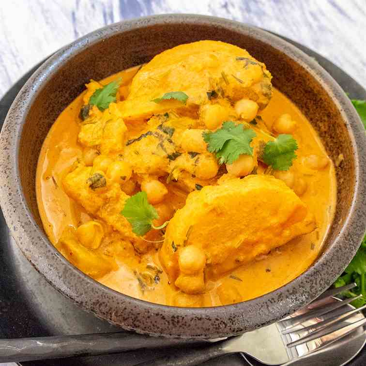 Thai Red Curry Chickpeas Butternut Squash