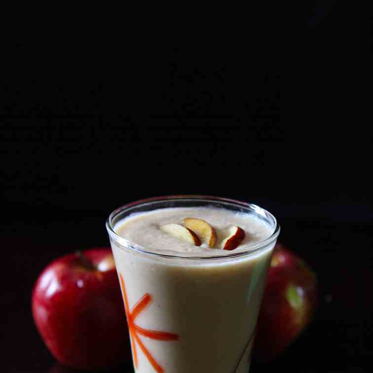 Apple dates milkshake recipe