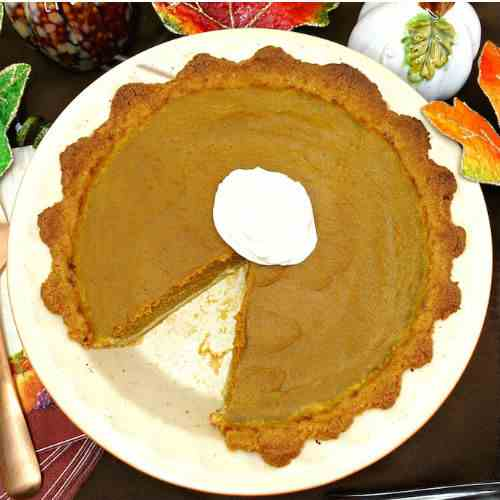 Traditional Paleo Pumpkin Pie