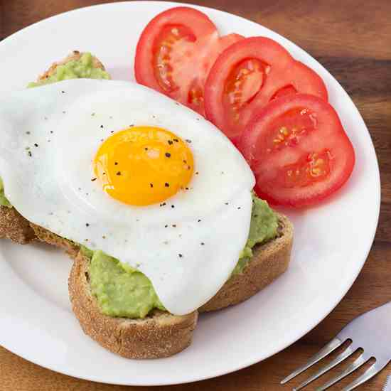 Avocado - Egg on Toast