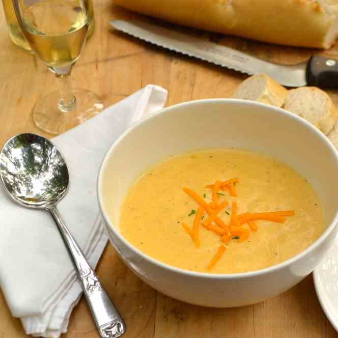 Wine - Cheese Soup