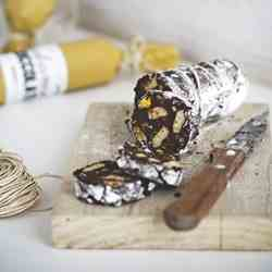 Chocolate salami without eggs