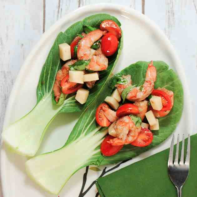 Shrimp Caprese Salad